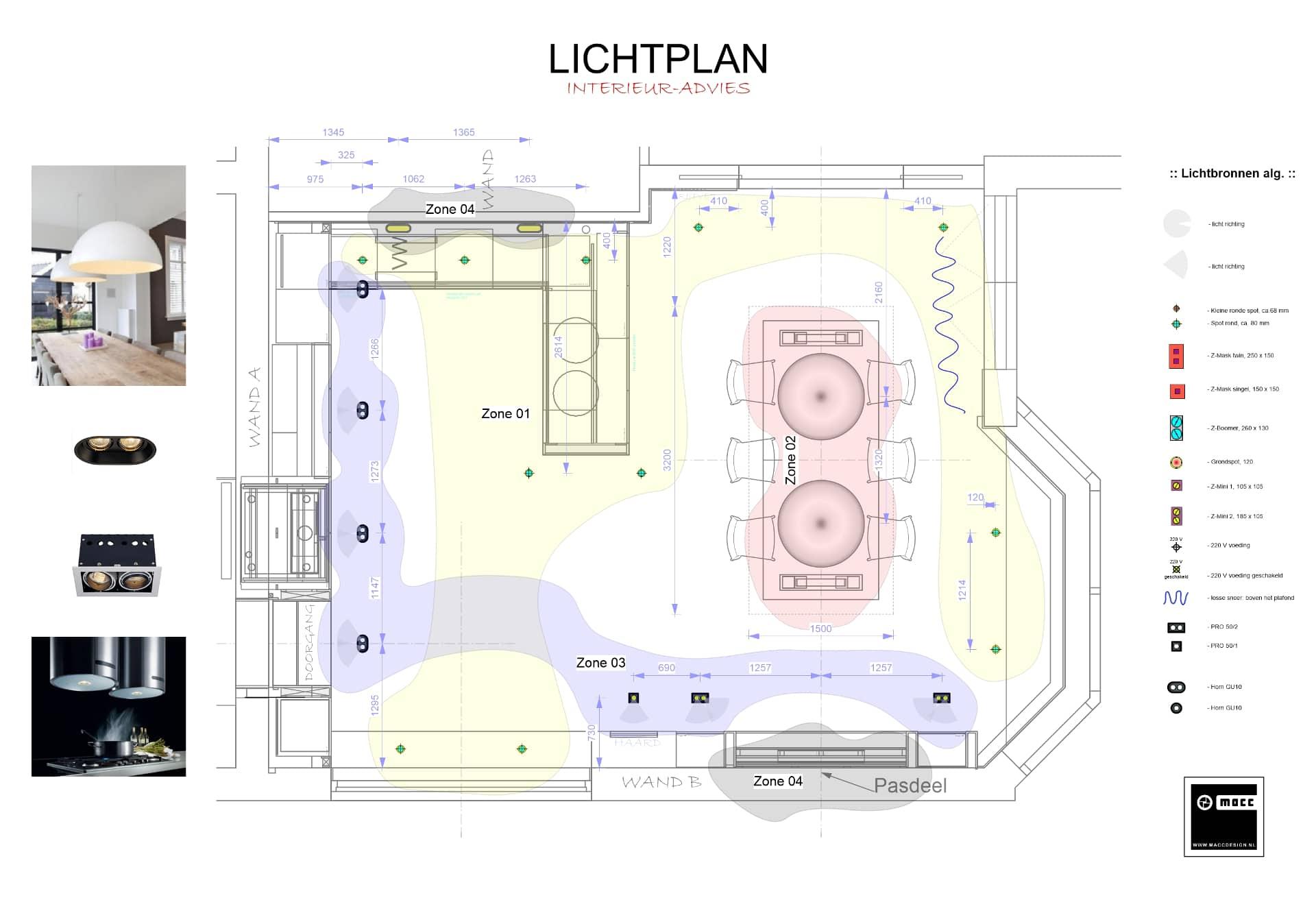Het lichtplan en hoe kies je de juiste verlichting